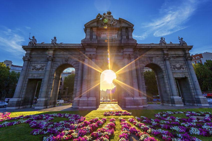 Puntos de interés Puerta de Alcalá - Madrid