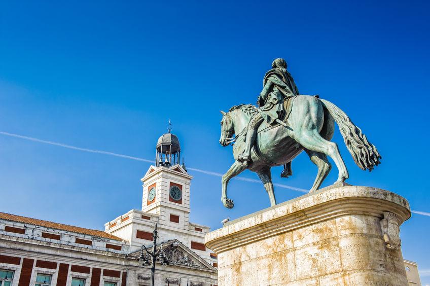 Puntos de interés Puerta del Sol - Madrid