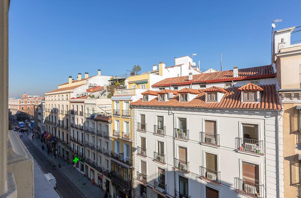 Vista exterior - Hostal Abadía Madrid