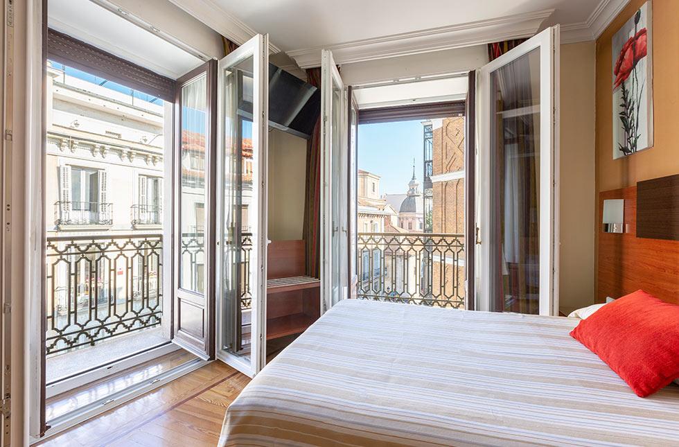Habitación - Hostal Abadía Madrid