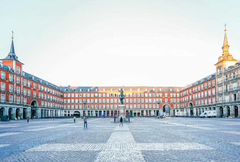 Plaza Mayor - Madrid - Spain